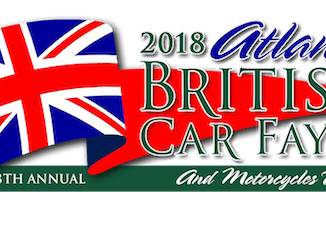 2018 Atlanta British Car Fayre