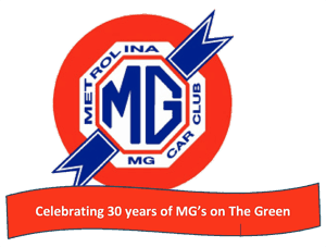 2018 MGs on the Green