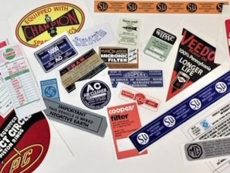 Abingdon Spares Acquires Restoration Decals