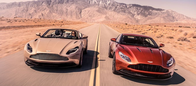 Aston Martin DB11 Volante and Coupe