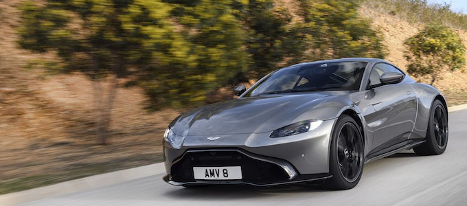Aston Martin Reports First-Quarter Earnings - Aston Martin V8 Vantage