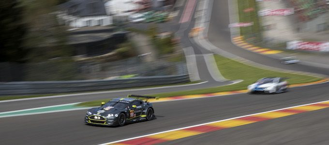 Aston Martin Vantage GTE Makes Qualifying Racing Debut