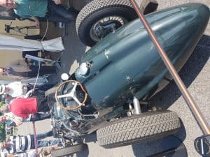 BRM V16 at Beaulieu Spring Autojumble 3