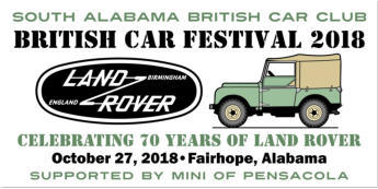 British Car Festival 2018 - Alabama