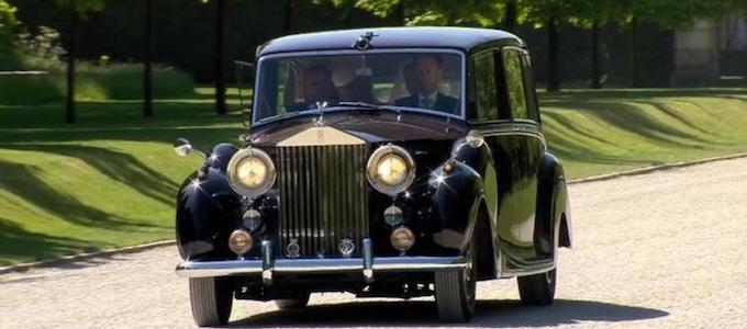 Cars of the Royal Wedding - 1950 Rolls-Royce Phantom IV