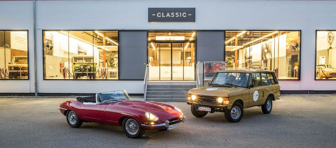 JLR Classic Expands with Centers in Germany