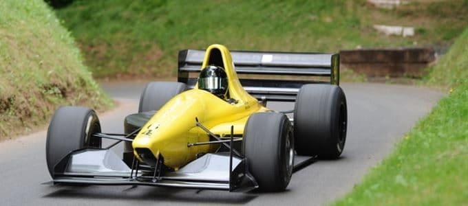 Jaguar Formula E Car UK Public Debut at Shelsley Walsh