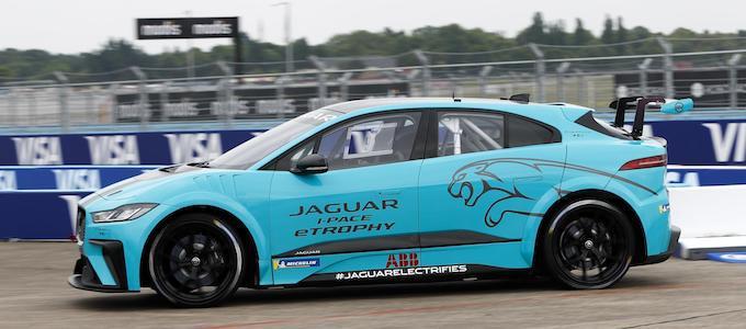 Jaguar I-PACE eTROPHY Global Debut