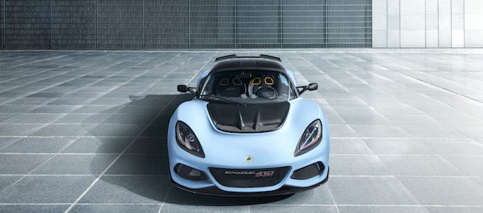 Lotus Launches New Exige Sport 410
