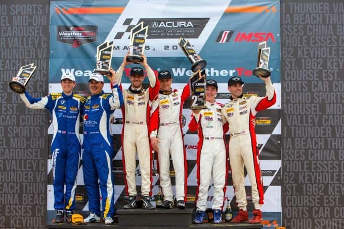 MINI JCW Team Finishes 1 - 2 in the Street Tuner Class of the Continental Tire SportsCar Challenge Series at Mid-Ohio 3