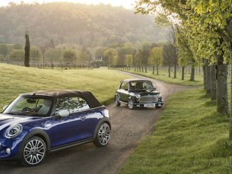 MINI UK Celebrates 25 Years of the MINI Convertible 1