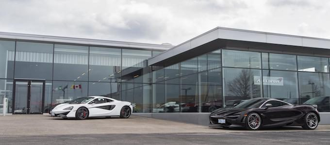 McLaren Toronto named McLaren Automotive Global Retailer of the Year 2017
