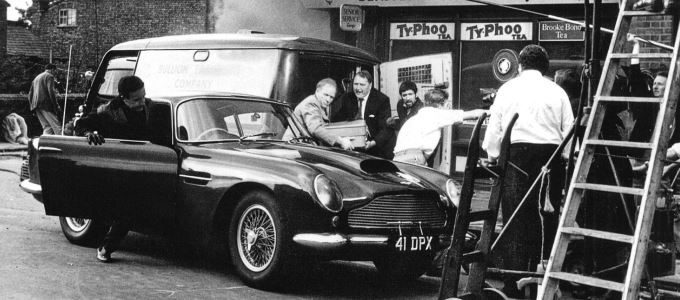 Peter Sellers Aston Martin Is Coming to London 4