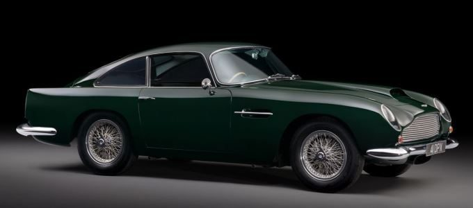 Peter Sellers' Aston Martin to be Sold at Sothebys London
