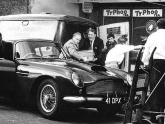 Peter Sellers' Aston Martin Is Coming to London 4