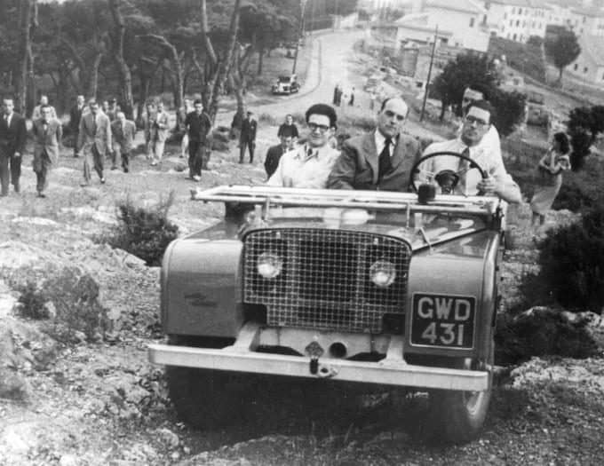 The Land Rover 1948 prototype L03 in action through the decades-1