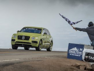 1 - Bentayga Pikes Peak - Finish Line