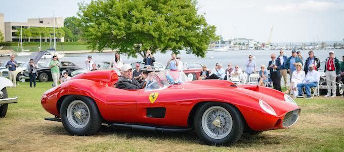 1957 Ferrari 335 Sport Spider Scaglietti of Scuderia N.E. Photo by Bryan McCarthy of Bearded Mug Media