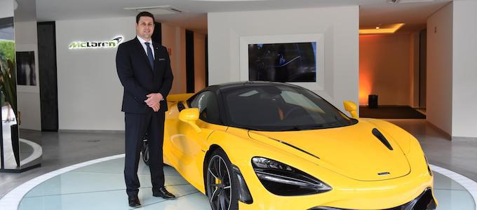 Andreas Bareis Appointed McLaren Vehicle Line Manager
