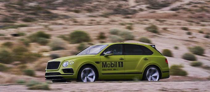 Bentley Bentayga ready for Pikes Peak International Hill Climb - 1