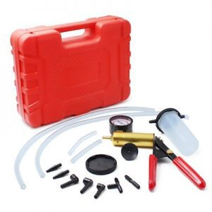 Brake Bleeder Kit with Vacuum Pump