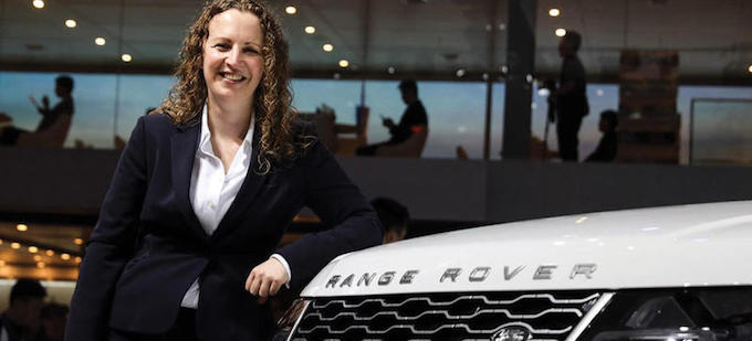 Elizabeth Hill - JLR's Women Recognized as Great British Women in the Car Industry