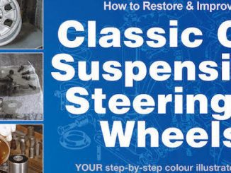 How to Restore & Improve Classic Car Suspension, Steering & Wheels - Header