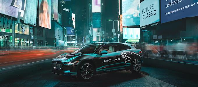 Jaguar I-PACE Times Square - New York