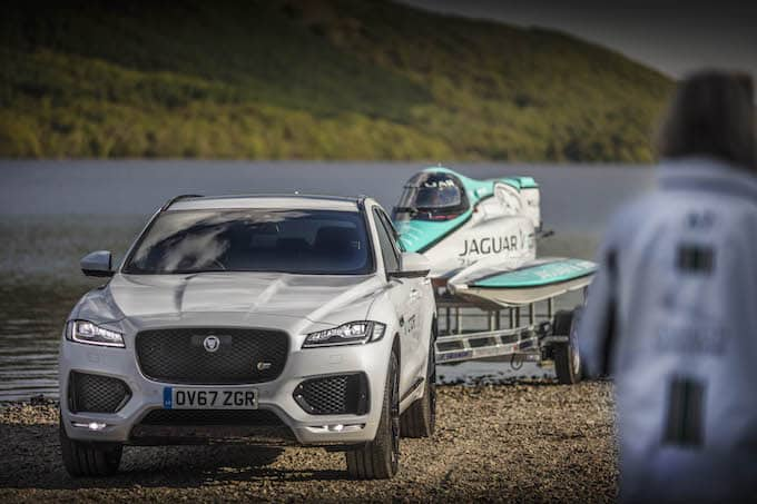 Jaguar Vector Racing Breaks Maritime Electric Record - _LEX1530