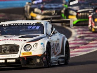 The Team Parker Racing Continental GT3 took P2 in class