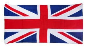 Union Jack Beach Towels