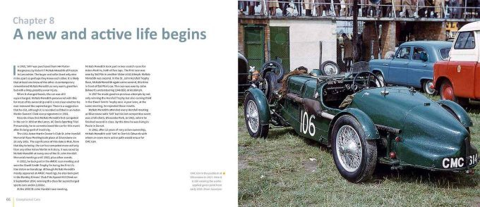 Aston Martin Ulster - Remarkable History of CMC 614 - pages