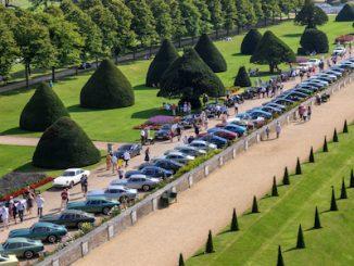 Aston Martins at Hampton Court Palace