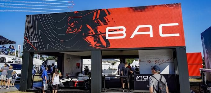 BAC Mono Goodwood Stand