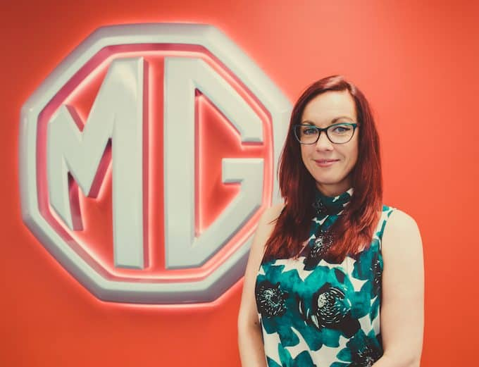 Carly Escritt - MG Motor Invests in People and Premises