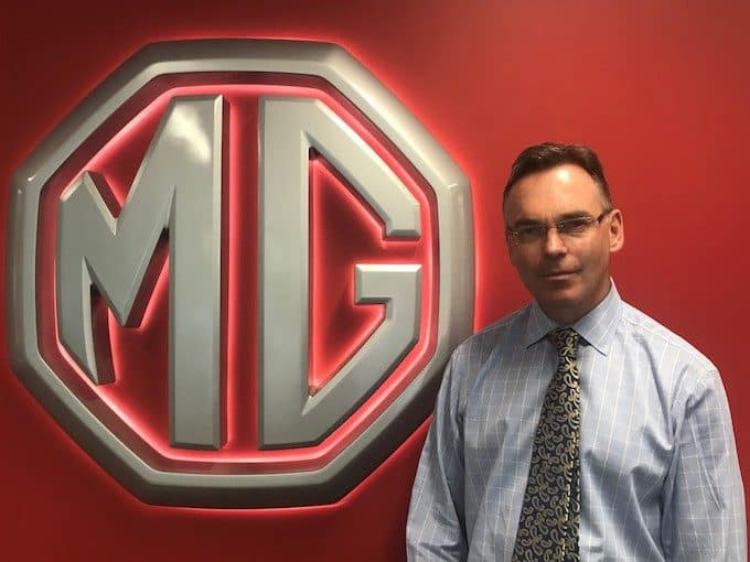 David Allington - MG Motor Invests in People and Premises