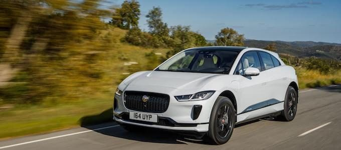 Jaguar I-PACE - Yulong White