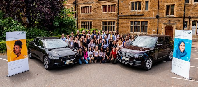 Jaguar Land Rover Inspiring Talented Female Students with STEM