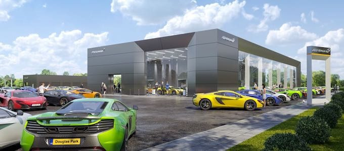 Leeds - McLaren Automotive revealed as fastest growing luxury automotive brand in the UK