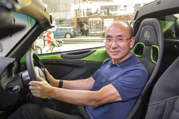 Lotus CEO Feng Qingfeng