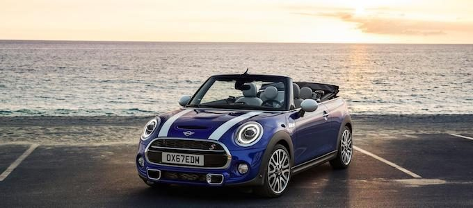 MINI Cooper S Convertible win award