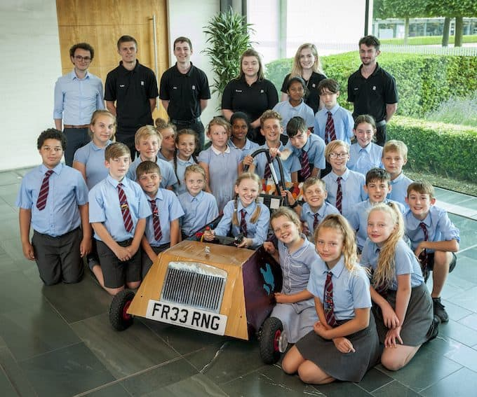Rolls-Royce Hatches Plan For Racing Success With Local Primary School