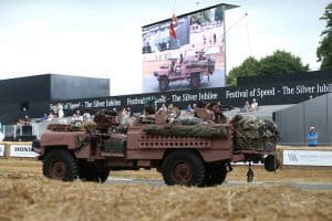 and Rover celebrates 70 years with the largest ever parade of vehicles on Goodwood Hill 2