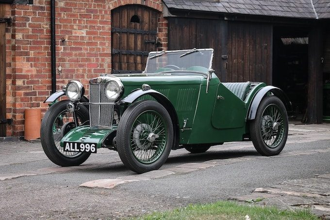 1933 MG J2 Midget - British Classics to Feature at CCA September Auction