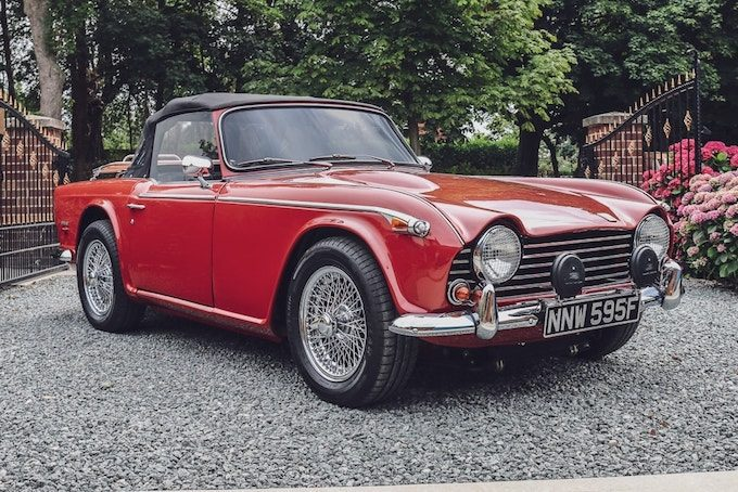 1968 Triumph TR5 - British Classics to Feature at CCA September Auction
