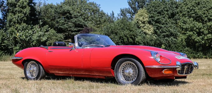 1971 Jaguar E-Type Series III V12 Manual Roadster - British Classics to Feature at CCA September Auction