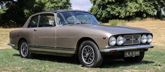 1975 Bristol 411 Series 4 - British Classics to Feature at CCA September Auction