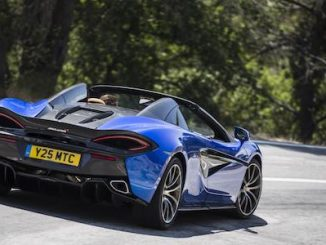 British Supercars Reign Supreme in Most Popular Prestige Buys - McLaren 570S Spider