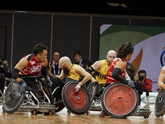 GLOBAL FIRST FOR LAND ROVER AT WHEELCHAIR RUGBY WORLD CHAMPIONSHIPS 2