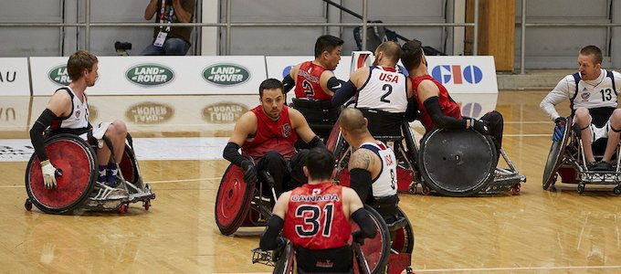 GLOBAL FIRST FOR LAND ROVER AT WHEELCHAIR RUGBY WORLD CHAMPIONSHIPS
